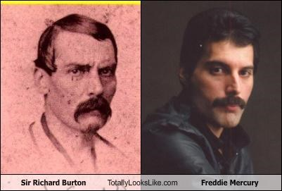 freddie mercury,sir richard burton