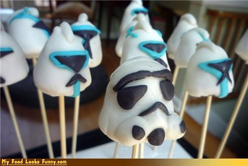 candy,pops,star wars,stick,stormtrooper,Sweet Treats
