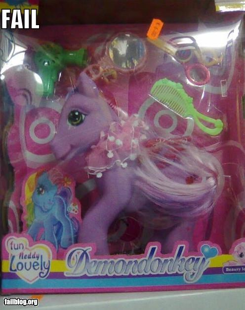 failboat g rated horses knock offs ponies toys - 3873738240