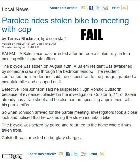 bikes failboat jail meetings parole Probably bad News stealing - 3873942016