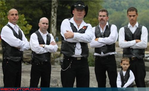 cheesy groomsmen photo,cowboy groom,cowboy hat,crazy groom,fashion is my passion,for real,funny wedding photos,groomsmen vests,texas groomsmen,walker,wedding day vests,wedding party,Wedding Themes,wtf