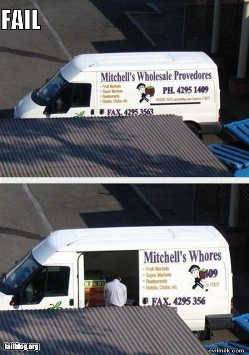 business name,company van,extra services,failboat,van