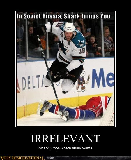 irrelevant,jump the shark,Soviet Russia