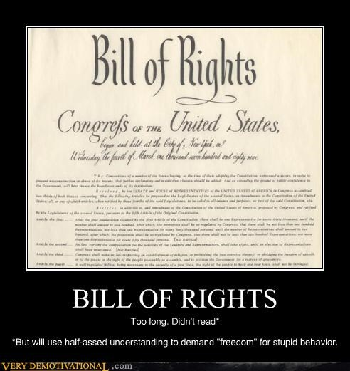america bill of rights idiots laws politics usa-1 - 3877647104