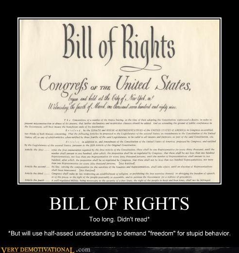america bill of rights idiots laws politics usa-1 - 3877647104