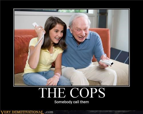 creepers old people pedobear Terrifying the cops wii yikes - 3877692928