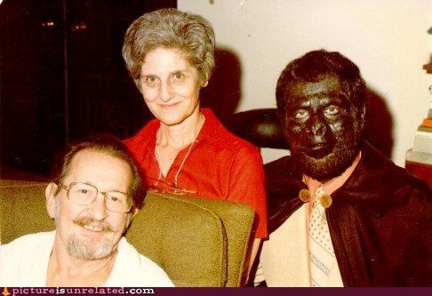 cape,family photo,gorilla,wtf