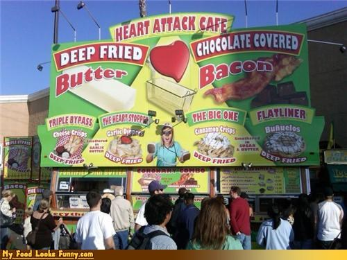 covered,deep fried,diet,fast food,heart attack,heart attack cafe,places,restaurant,unhealthy,unhealthy food