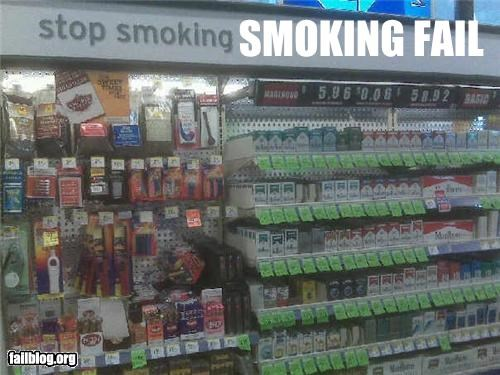 display,failboat,juxtaposition,smoking,store