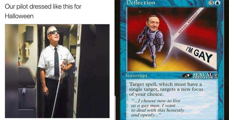 Funny and dank memes about kevin spacey, the government, politics, economics, magic cards, yu gi oh.