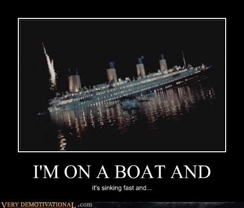 titanic sinking boat - 3880983296