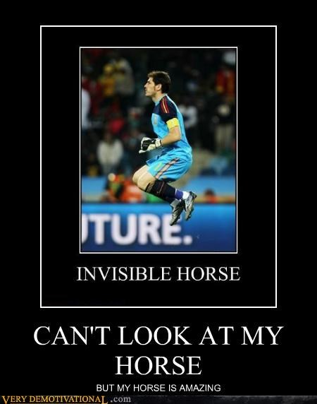 my horse is amazing,invisible