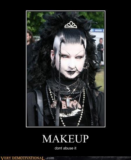 goth crazy makeup - 3881703168