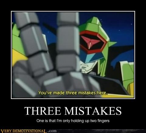 wtf,three mistakes,anime,two fingers