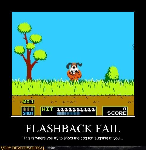 FAIL,duck hunt,flashback,video games