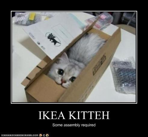 IKEA KITTEH Some assembly required