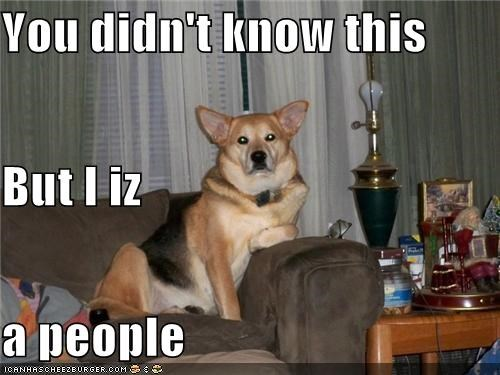 You didn't know this But I iz a people