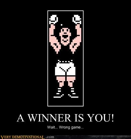 Punch Out winner video games classic - 3885027328