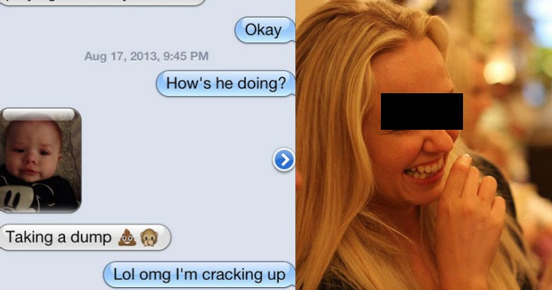 Collection of crazy text messages that babysitters sent parents.