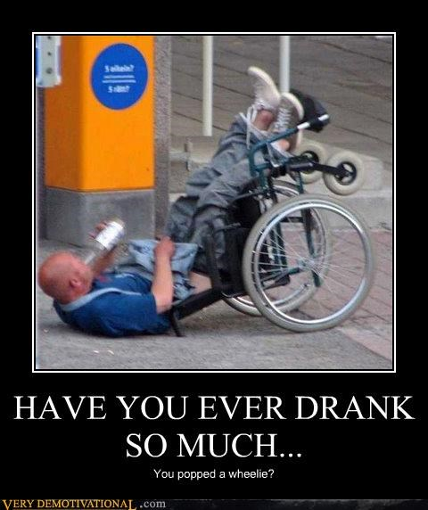 america drinking drunk hilarious special wheelchairs yes i have