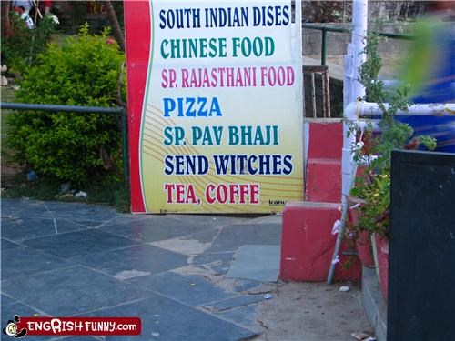 engrish,food,sandwich,sign,witch
