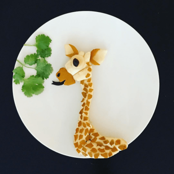 fruits and vegetables turned into animals