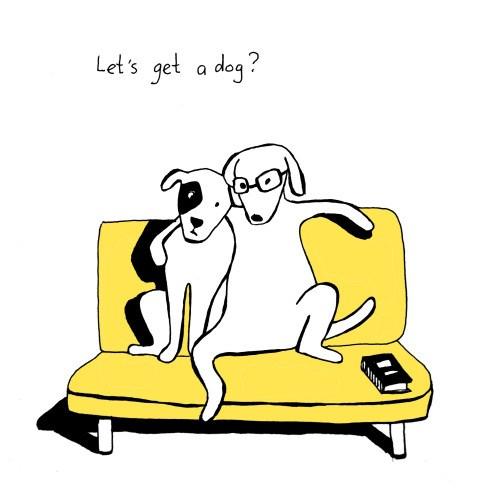 comics of animals doing human things