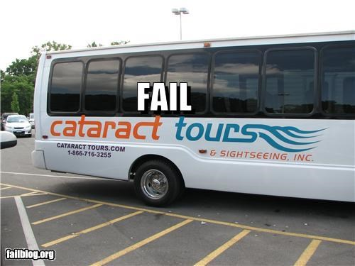 bad wording buses business name disease eyes failboat sightseeing tourism tours - 3889489152