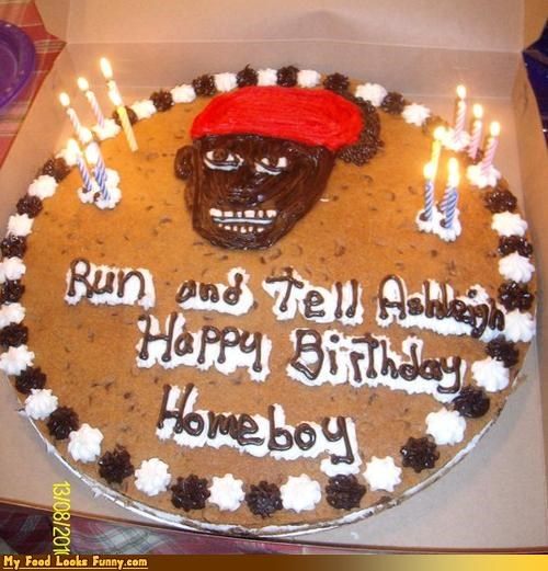Antoine Dodson,birthday cake,cake,cookies,cookie cake,happy birthday,Sweet Treats