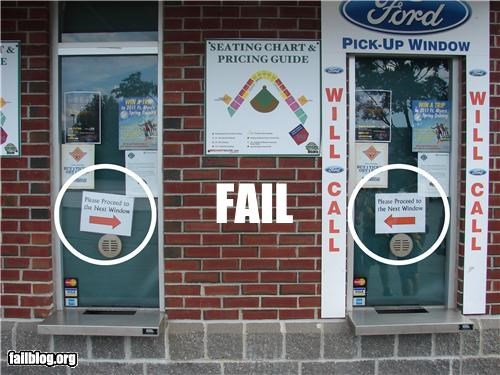 arrows failboat g rated next window signs ticket booth - 3889739776