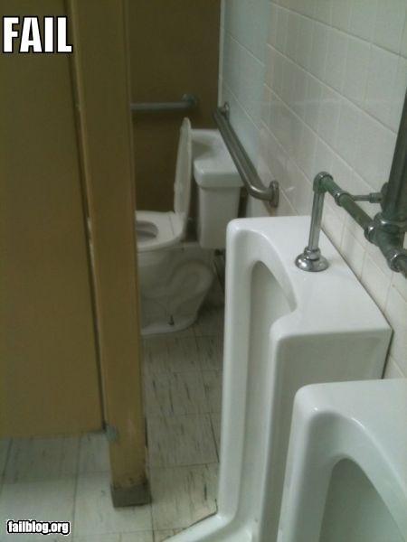 bathroom design flaw failboat privacy urinal - 3889796096