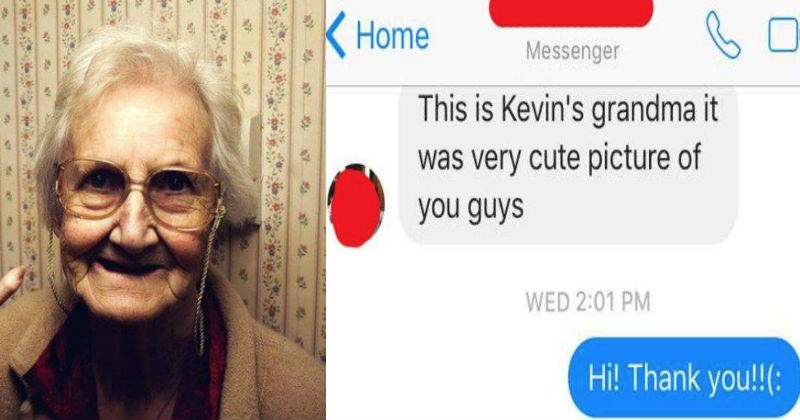 Texting conversation between a grandma and her grandson's girlfriend escalates quickly with eccentric text.