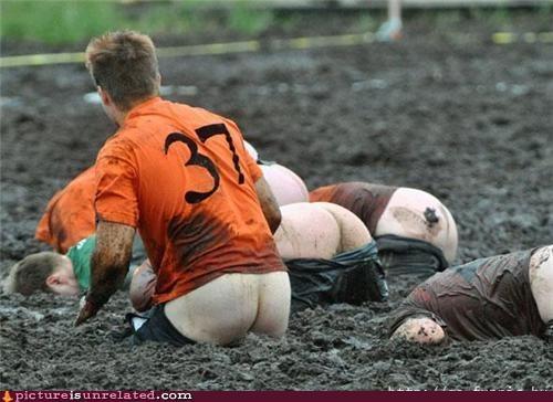 booty,British,mud,sports,wtf