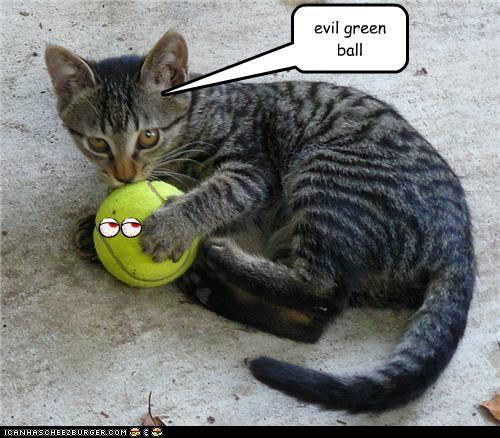 evil green ball