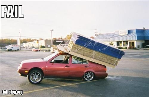 cars failboat g rated load too heavy too much transportation - 3893156352