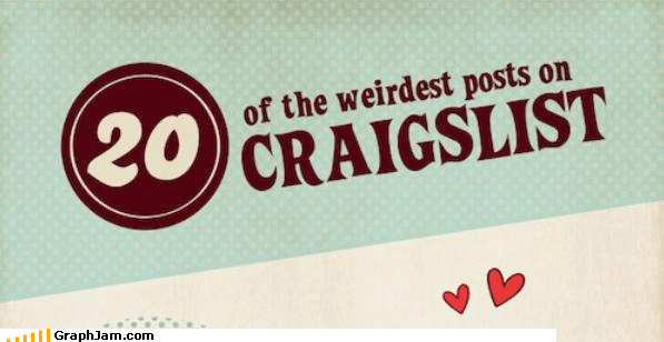can-you-do-that craiglist for sale infographic weird - 3893784832