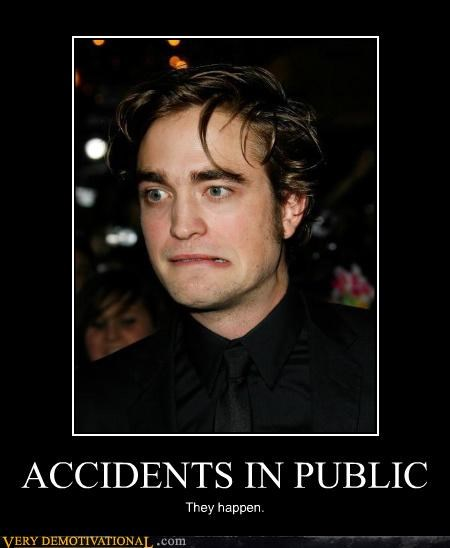 ACCIDENTS IN PUBLIC They happen.