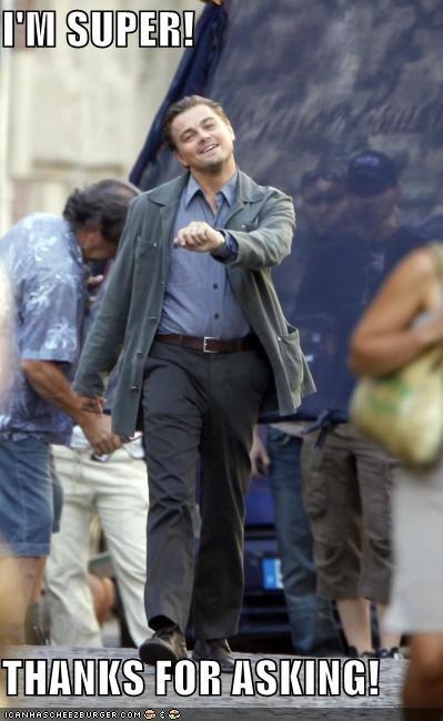 actor,celeb,funny,leonardo dicaprio,meme,strutting leo