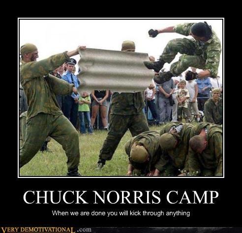 kick camp chuck norris - 3894594816