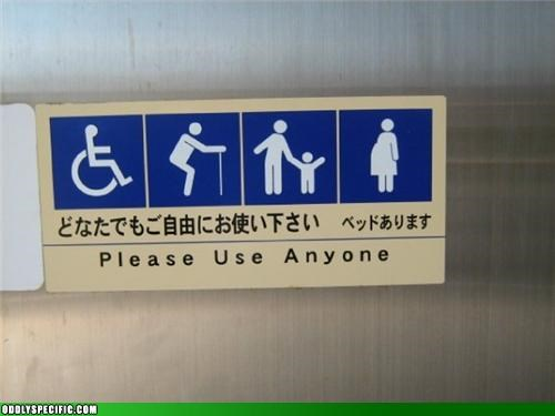 handicapped sign wtf - 3895657472