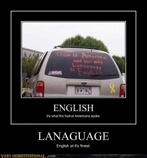 english redneck language america