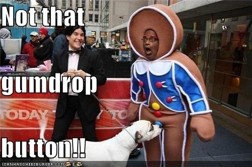 al roker,celeb,crotch,funny,gumdrop button,Hall of Fame,noms,oops,ouch,pit bull,shrek