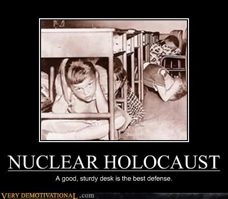 duck and cover history idiots nuclear threats school Terrifying war - 3897722112