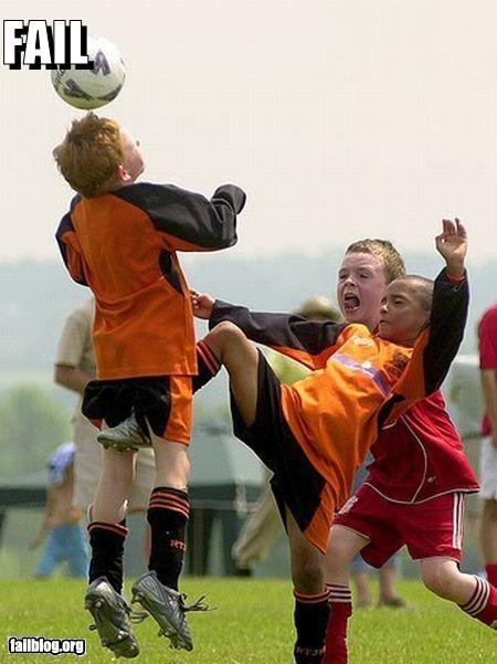 crotch shot failboat little kids ouch same teams soccer sports - 3898646272