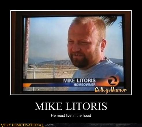 funny name hilarious hood lady bits Mike Litoris puns sexual parts - 3898665728