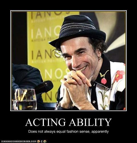 actor celeb daniel day-lewis demotivational fashion funny - 3899287040