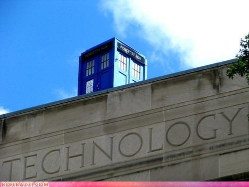 doctor who pranks sci fi tardis