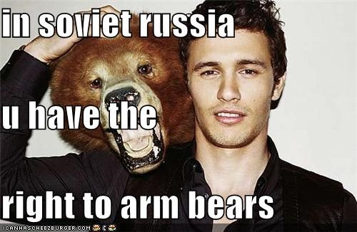 actor,arms,bear,James Franco,lolz,sexy