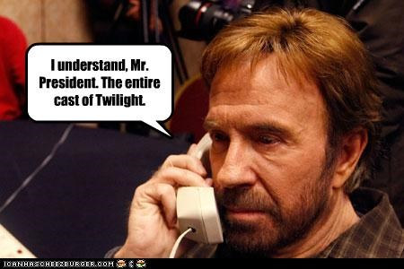 actor celeb chuck norris funny twilight - 3902054400