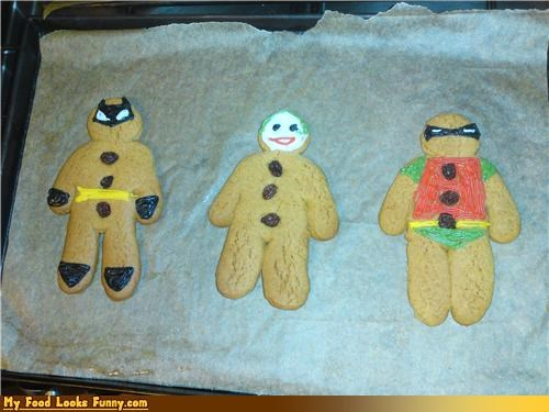 batman,cookies,gingerbread,joker,robin,Sweet Treats,TMNT